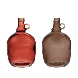 Sada 2 váz Jug Burgundy