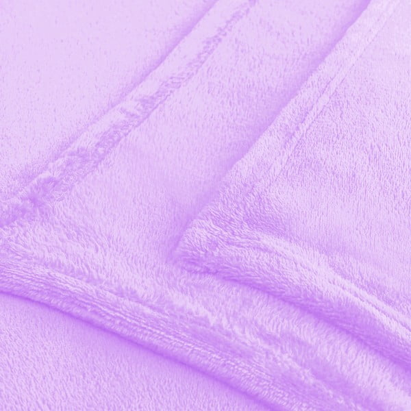 Fialová deka z mikrovlákna DecoKing Mic Lilac, 150 x 200 cm