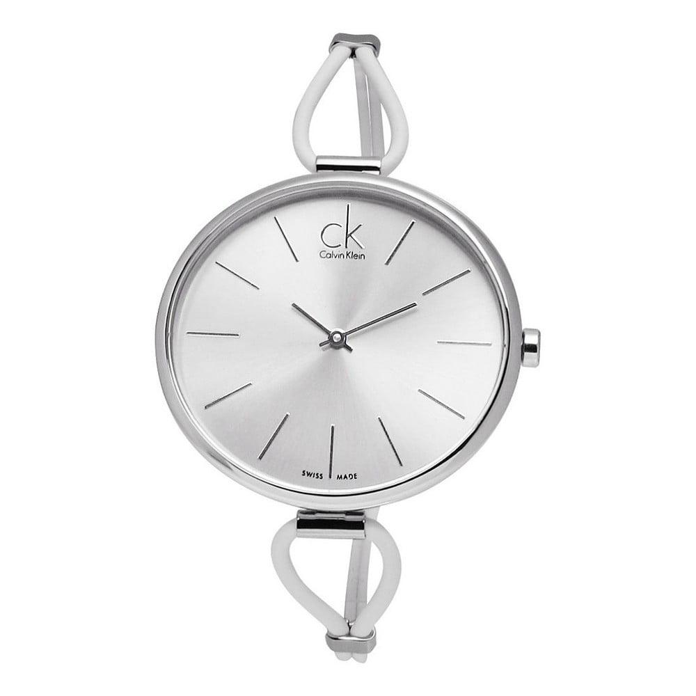 Luxusní dámské stříbrné hodinky Calvin Klein  236dc1f537c