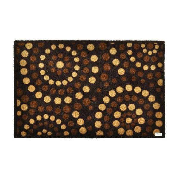 Rohožka Dots Brown, 50x70 cm