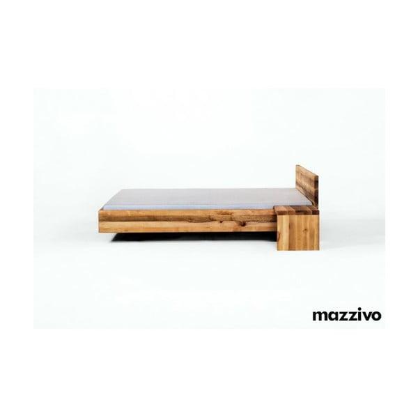 Noční stolek Coob z olšového dřeva, bezbarvý vosk