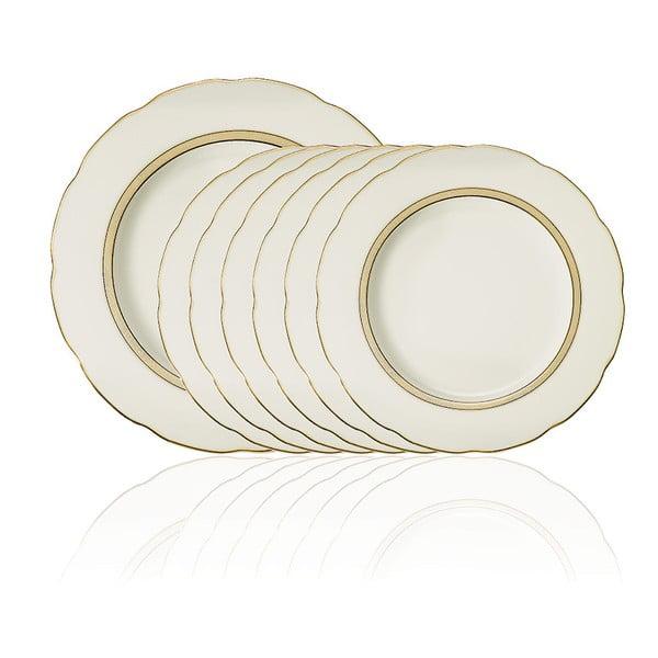 Set 7 porcelánových tanierov Ermilos