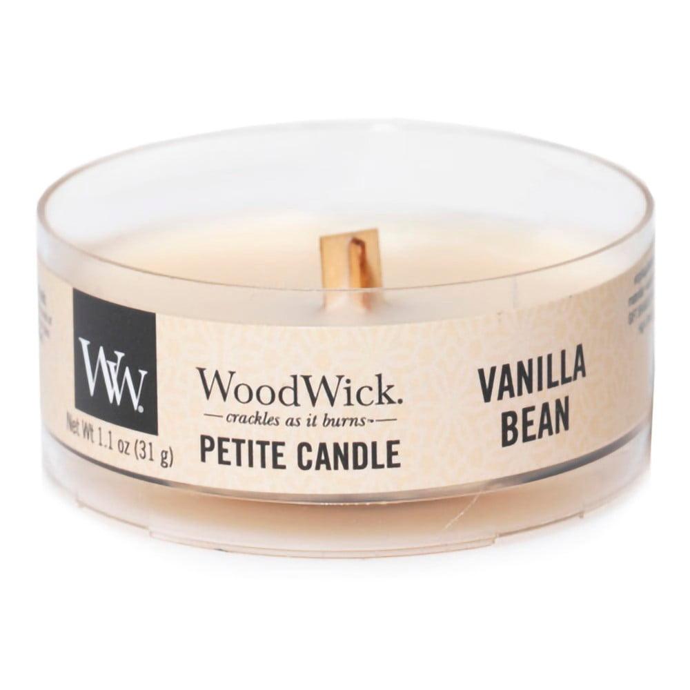Vonná svíčka WoodWick Vanilka, 8hodin hoření