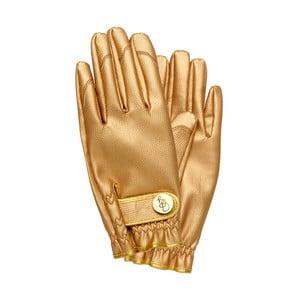Zahradní rukavice ve zlaté barvě Garden Glory, velikost S