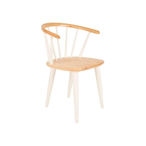Bílá židle Gee