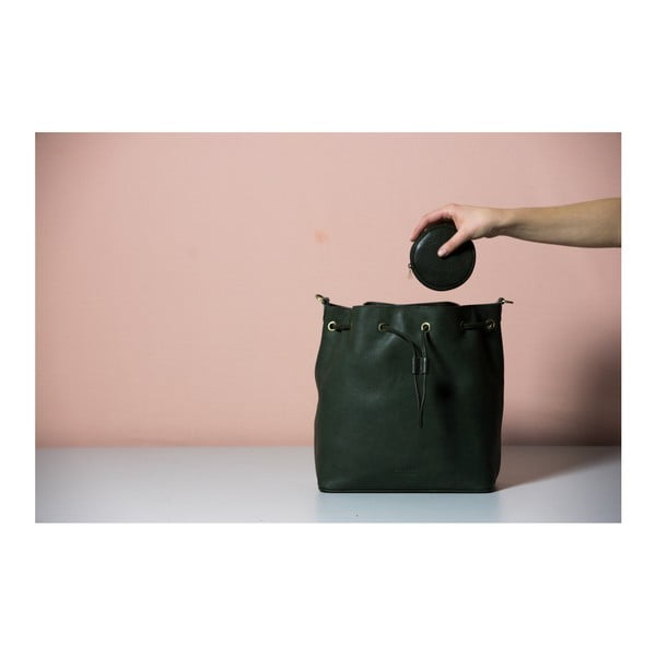 Černá kožená kabelka O My Bag The Donna