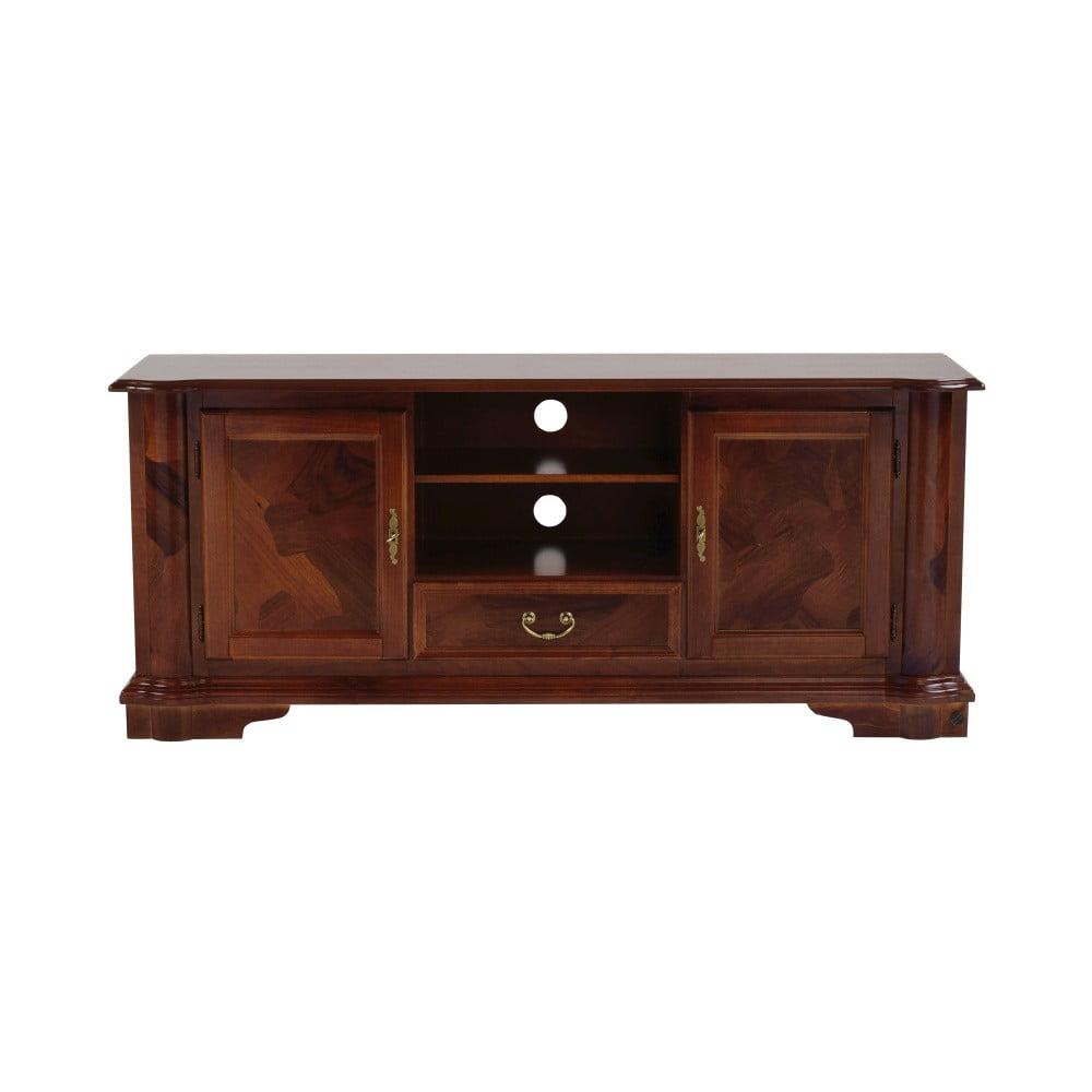 Hnědý TV stolek Folke Amadeus, délka150cm