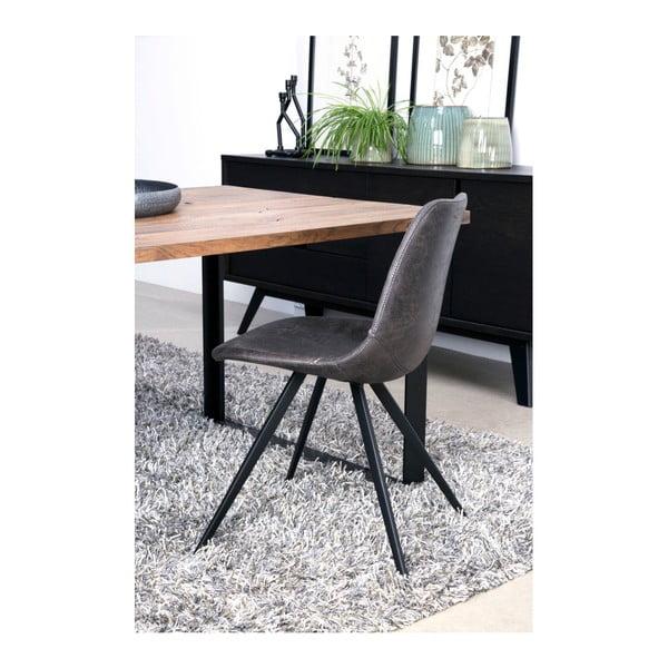 Černá jídelní židle Canett Liva