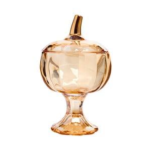 Bombonieră din sticlă Mezzo, 550 ml, portocaliu