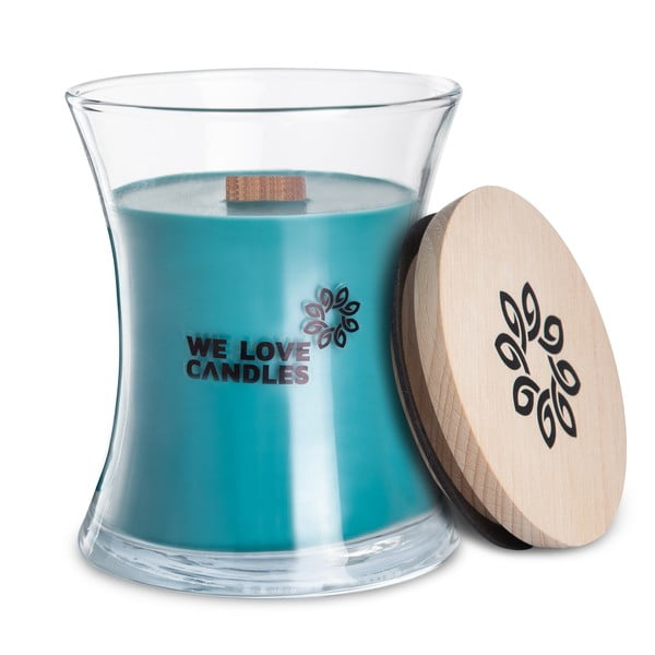 Lumânare din ceară de soia We Love Candles Frosted Forest, 129 ore de ardere