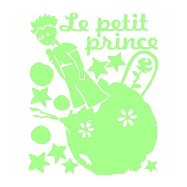 Ve tmě svítící samolepka Ambiance Le Petit Prince