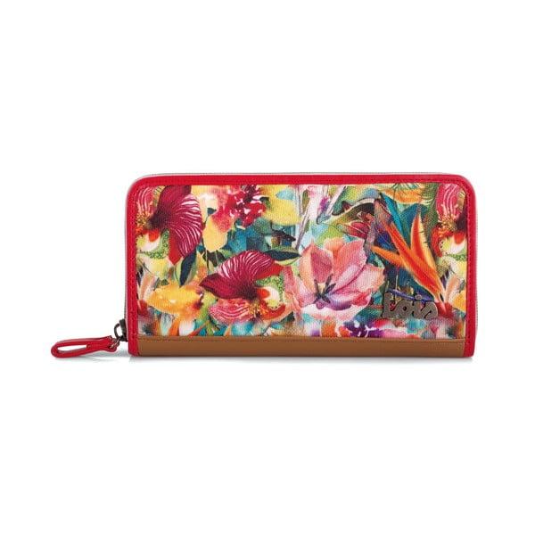 Peněženka Lois Rojo, 19x10 cm