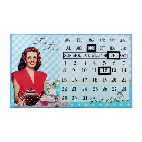 Nástěnná dekorace Calendar