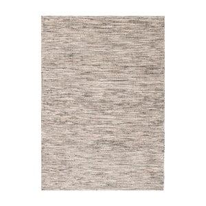 Šedý ručně tkaný vlněný koberec Linie Design Angel, 140x200cm