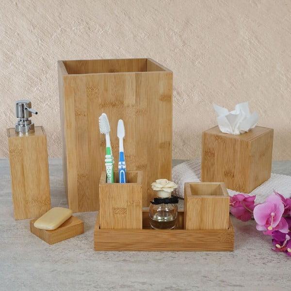 Koupelnový set Rome Bamboo (7 ks)