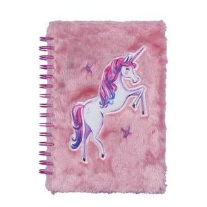 Caiet Tri-Coastal Design Wolrd Of Unicorns, 80 file