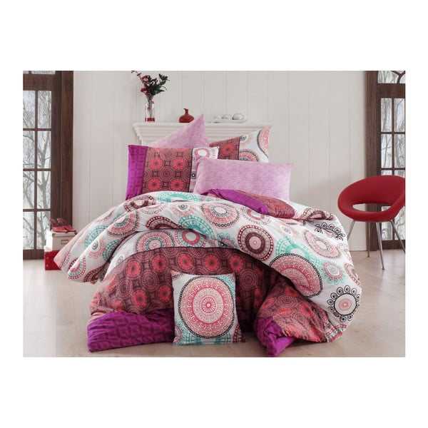 Lenjerie de pat cu cearșaf Cozier, 160 x 220 cm