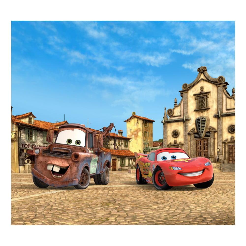 Foto závěs AG Design Disney Auta II, 160 x 180 cm