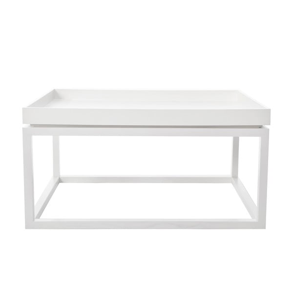 Konferenční stolek Tip, bílý