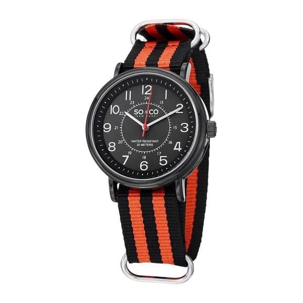 Pánské hodinky SoHo Orange Stripe