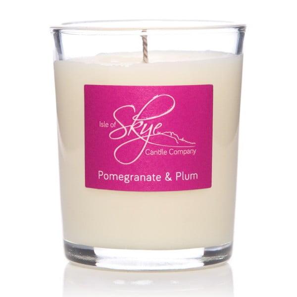 Lumânare cu aromă de rodii și prune Skye Candles Container, timp de ardere 12 ore