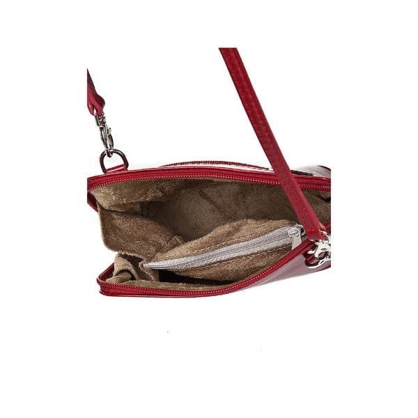 Kožená kabelka Giorgio Costa 15027 Red