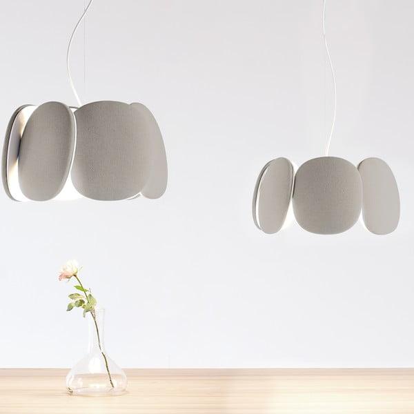 Stropní světlo Bloemi Beige, 45 cm
