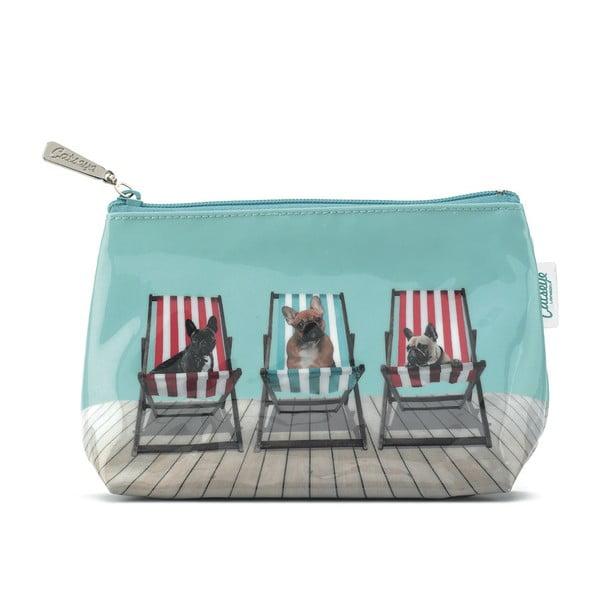 Malá kosmetická taška Deckchair Dogs