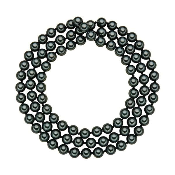 Perlový náhrdelník Muschel, zelené perly 0,8, délka 90cm