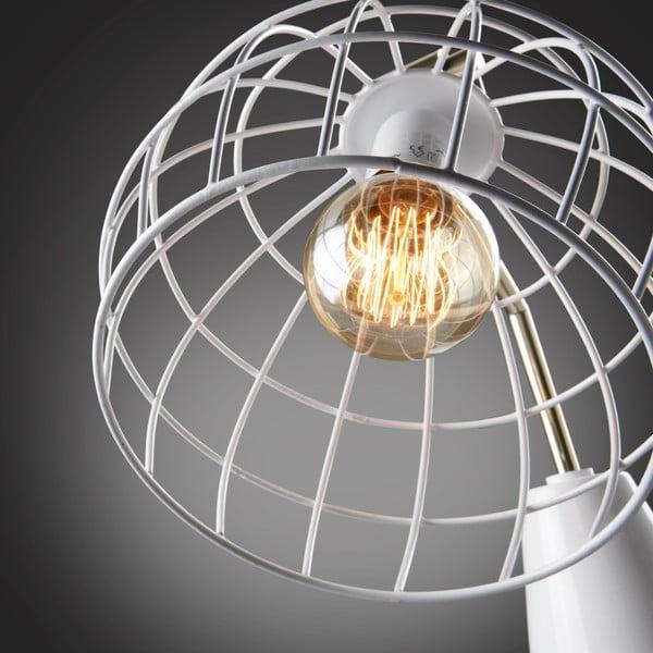 Bílá volně stojací lampa La Forma Briana White
