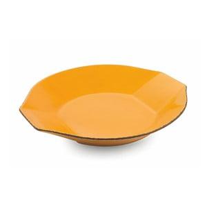 Žlutý servírovací talíř Villa d'Este Baita, ⌀31cm