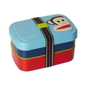 Dvoupatrový svačinový box Paul Frank, modrý