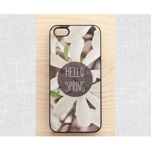 Obal na iPhone 4/4S, Hello Spring/black