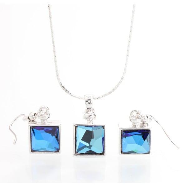Set náhrdelníku a náušnic se Swarovski Elements Laura Bruni Wingo
