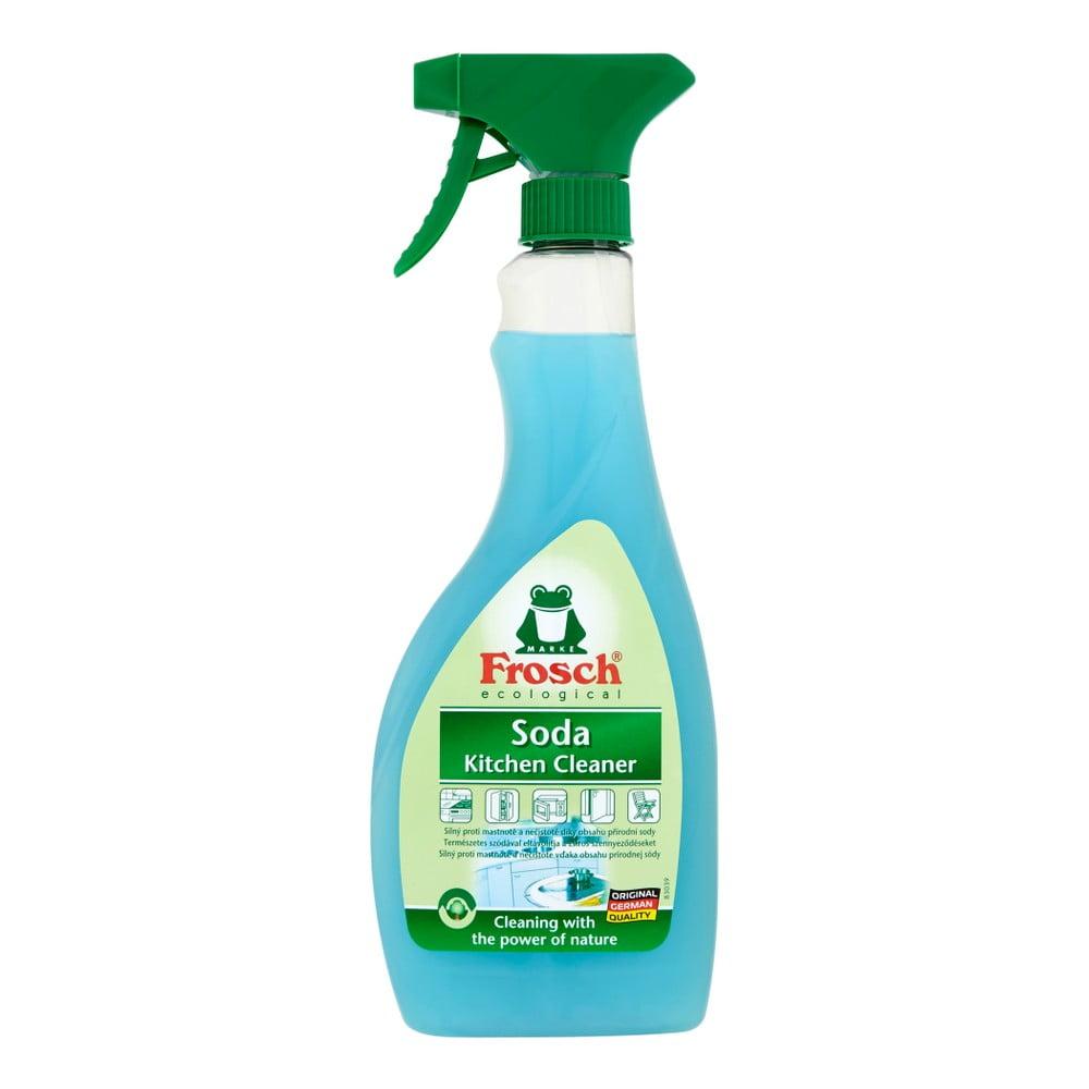 Kuchyňský čistič s přírodní sodou Frosch, 500ml