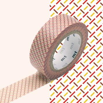 Bandă decorativă Washi MT Masking Tape Aimee, rolă 10 m imagine