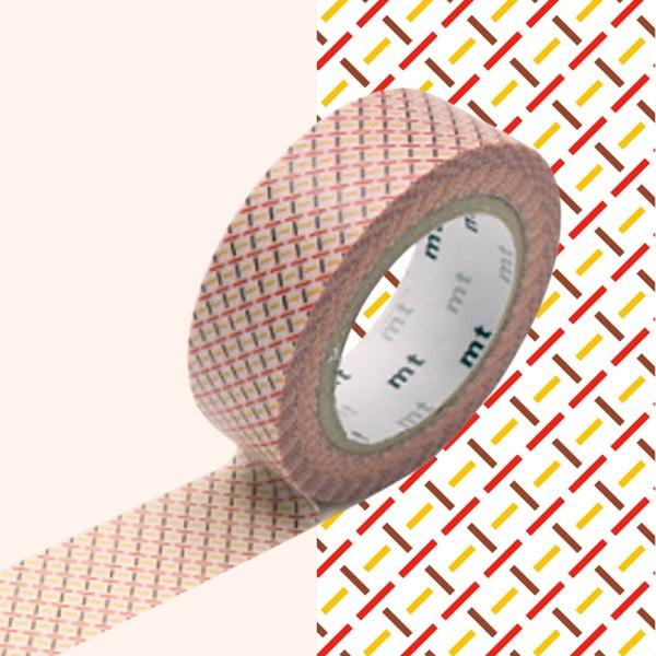Bandă decorativă Washi MT Masking Tape Aimee, rolă 10 m