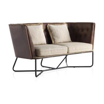 Canapea cu 2 locuri Geese structură metalică