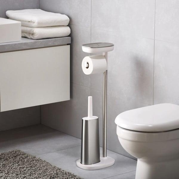 Suport pentru perie WC și hârtie igienică Joseph Joseph EasyStore
