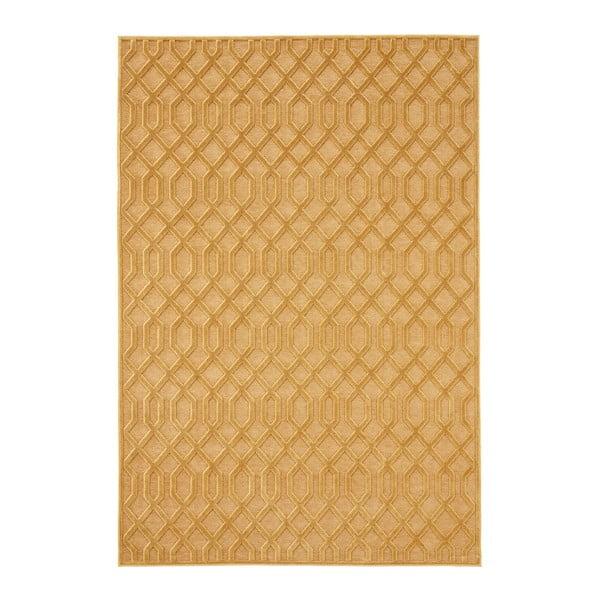 Oranžový koberec Mint Rugs Shine Mero, 120 × 170 cm