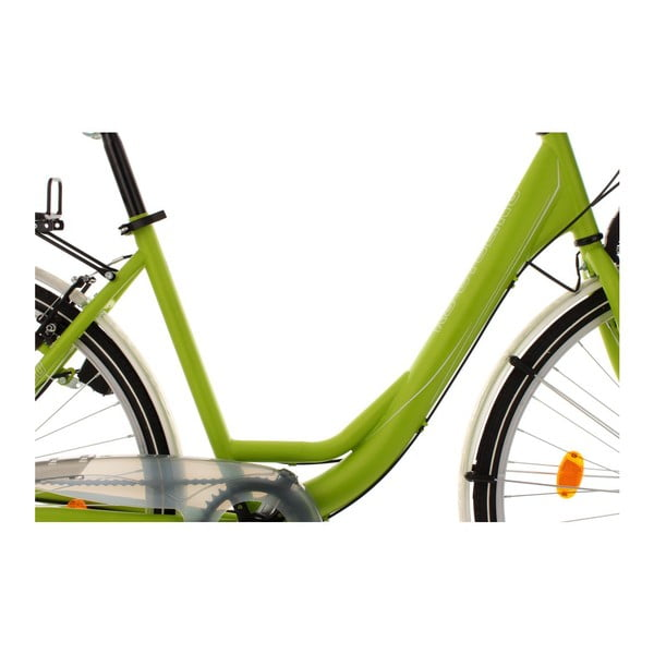 "Kolo City Bike Milano Green 28"", výška rámu 49 cm"