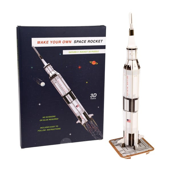Puzzle 3D rachetă spațială Rex London Space Rocket