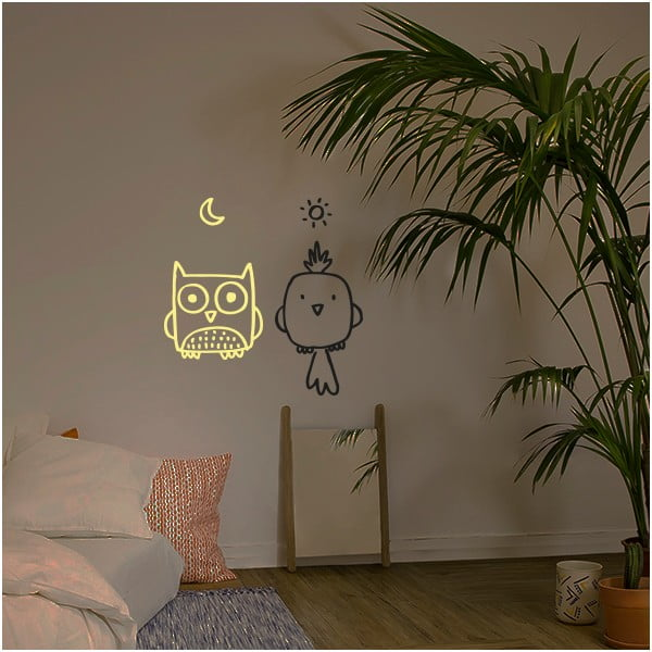Dekorativní samolepka na zeď Bird Owl