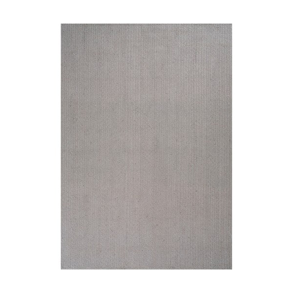 Jutový koberec Mendoza Grey, 200x300 cm