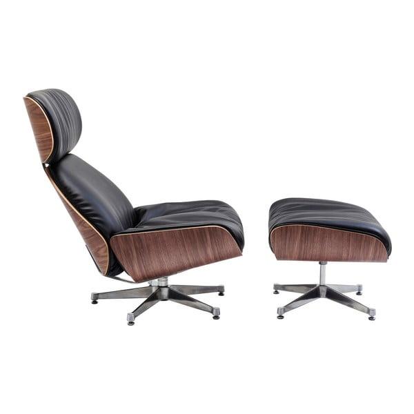 Černé kancelářské křeslo Kare Design Ponte
