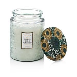 Lumânare parfumată Voluspa Limited Edition, aromă de cedru, verbena și lavandă, 100 ore