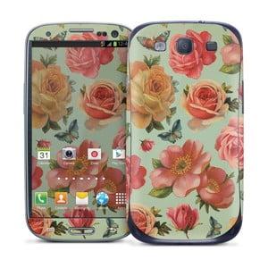Samolepka na Samsung Galaxy S III, Rose