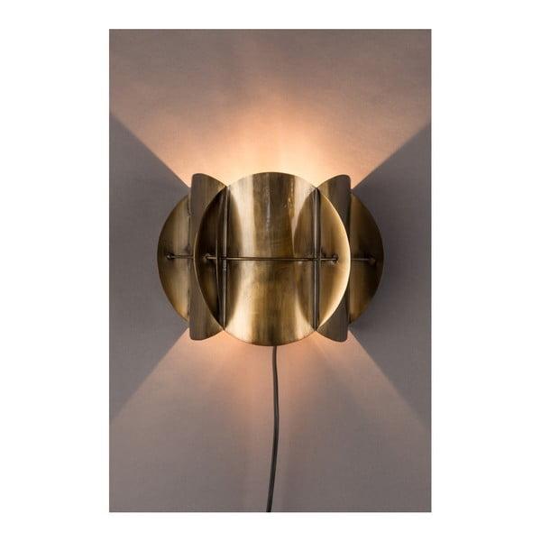 Nástěnné svítidlo v barvě mosazi Dutchbone Corridor