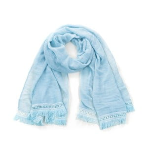 Světle modrý šátek Art of Polo Aqua