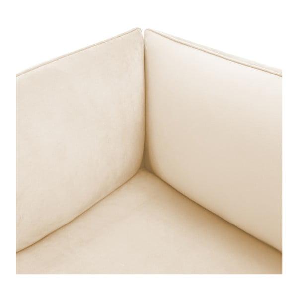 Pískově béžová dvoumístná modulová pohovka Vivonita Velvet Cube